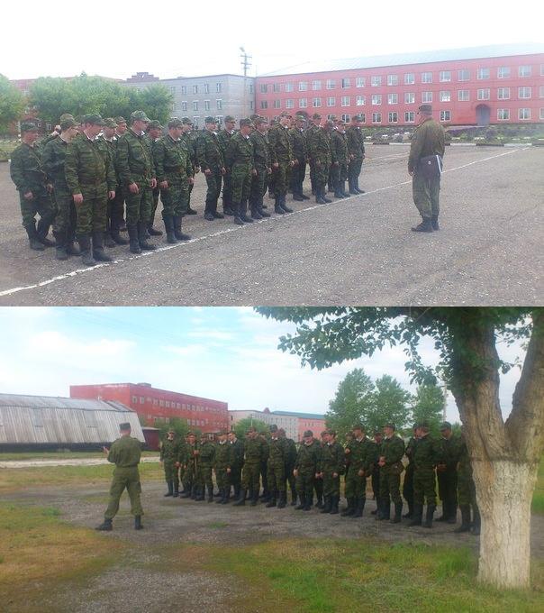 ВЧ55026. Проведение военных сборов на базе 48-й ЖДБр