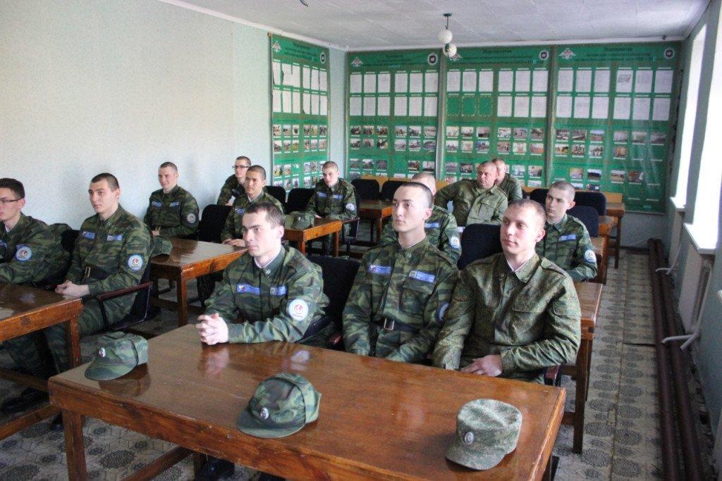 ВЧ55026. Учебный класс мостового железнодорожного батальона