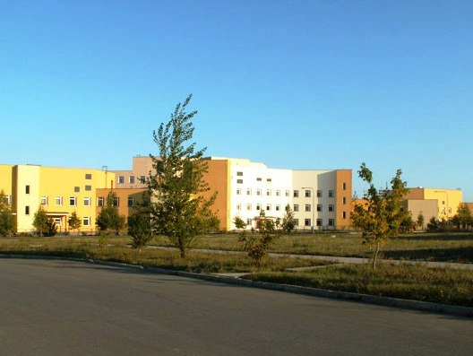 ВЧ59292. Военный госпиталь в пос. Рощинский