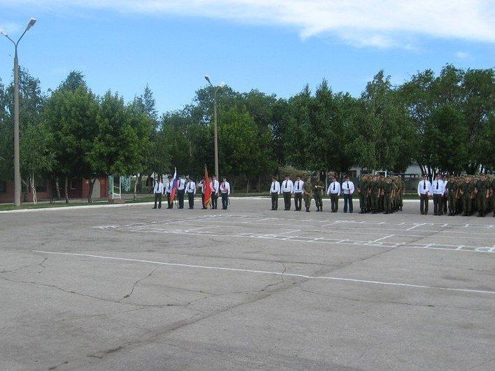 ВЧ59292. Строевой плац 91-й бригады