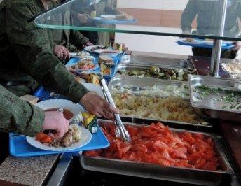 ВЧ 89547. Организация питания в бригаде по типу шведского стола