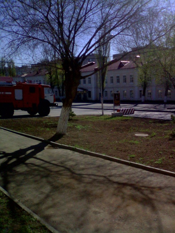 ВЧ11384. На территории части в Волгограде
