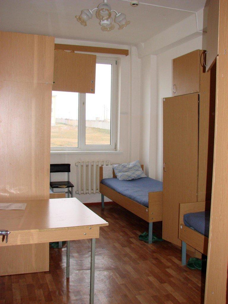 ВЧ11384. Одна из комнат в кубрике (подразделение в Буденновске)