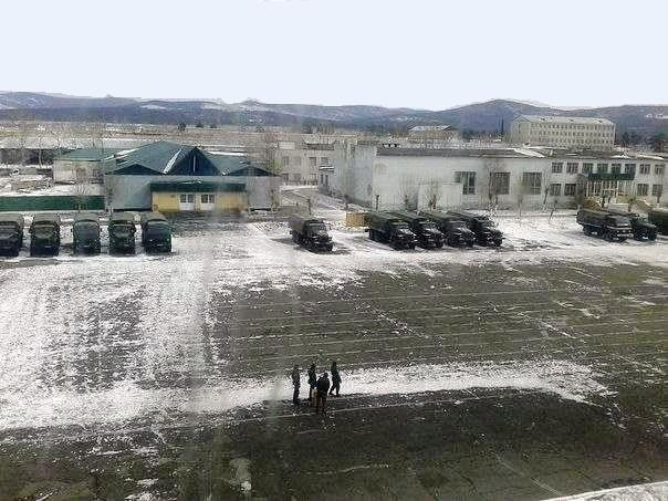 ВЧ11387. Территория 104-й бригады МТО
