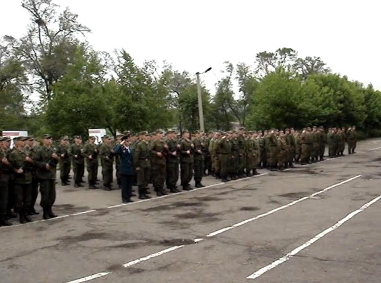 ВЧ11388. Плац 101-й бригады МТО