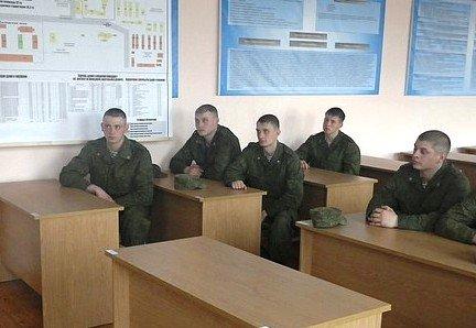 ВЧ 55433. Учебный класс в бригаде