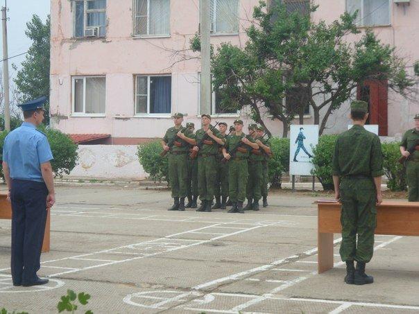ВЧ03007. Церемония принятия военной присяги новобранцами в/ч