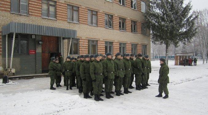 ВЧ10199. Подготовка к приведению солдат части к присяге