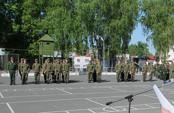 ВЧ11262. Плац 27-й бригады РХБЗ