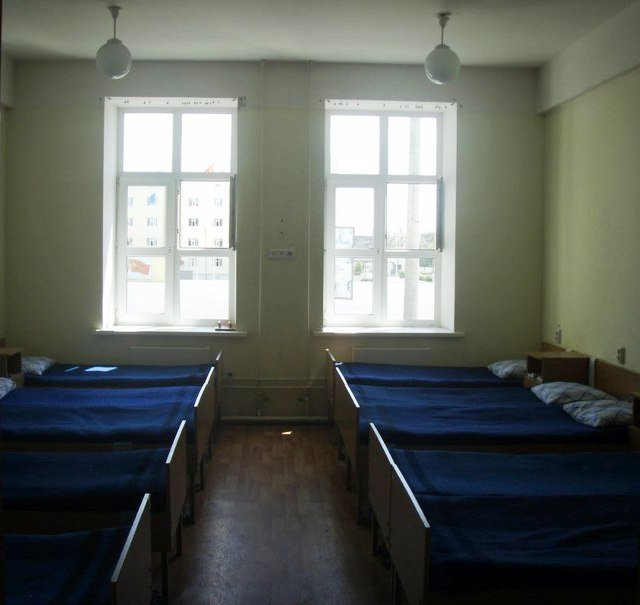 ВЧ11385. Спальное расположение солдат части