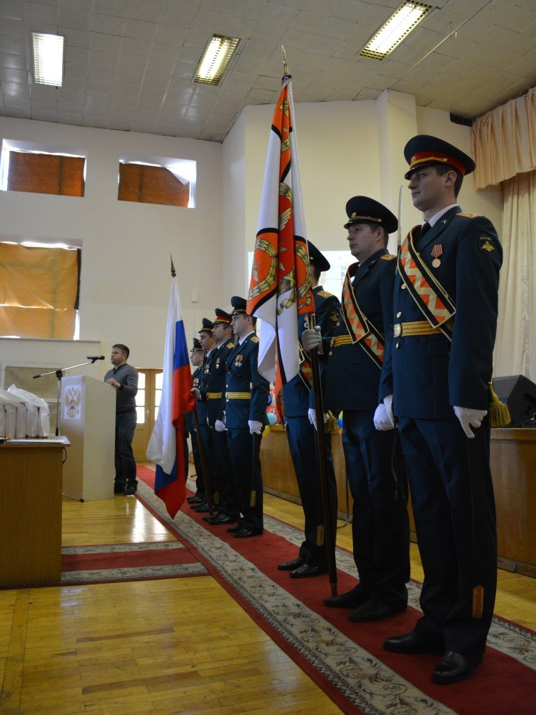 ВЧ28916. Знамя 132-й бригады связи