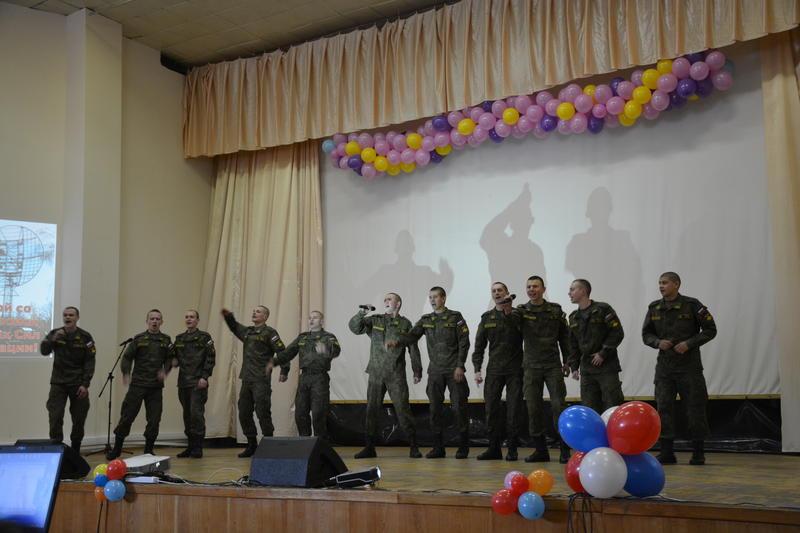 ВЧ28916. 96-летие войск связи Вооруженных сил Российской Федерации в Агалатово