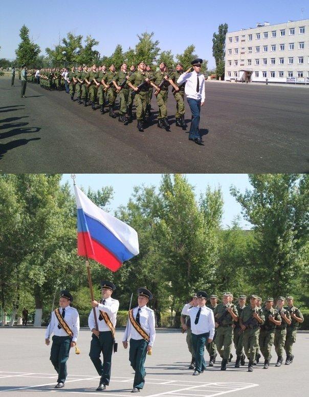ВЧ51473. На церемонии приведения к присяге на верность РФ