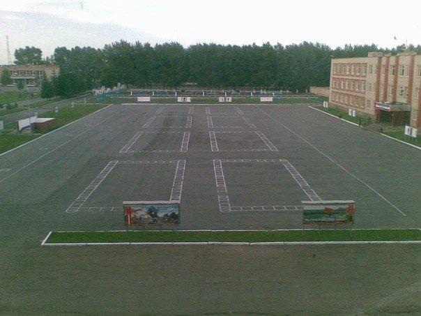 ВЧ57849. Строевой плац 35-й БрУ