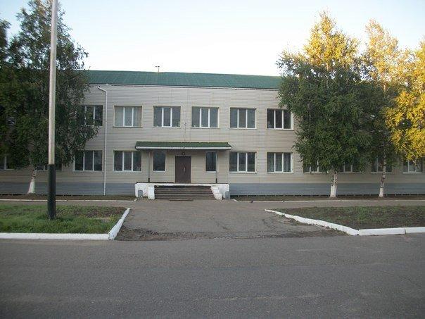 ВЧ61424. Здание штаба 69-й ОБр