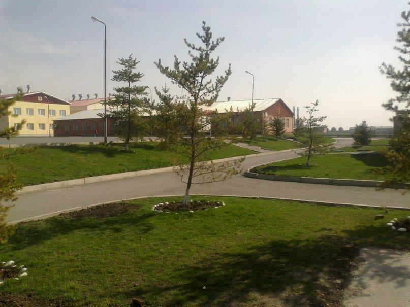 ВЧ64670. Территория подразделения