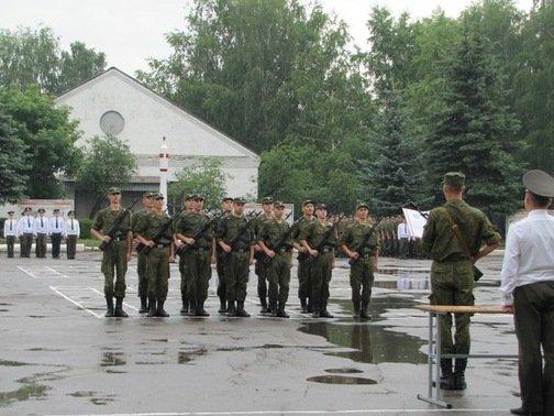 ВЧ 26178. Принятие военной присяги солдатами в/ч