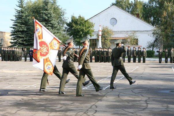 ВЧ 26178. Церемония выноса боевого знамени части
