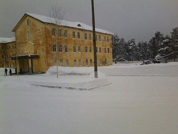 ВЧ 30683. Здание одной из казарм в/ч