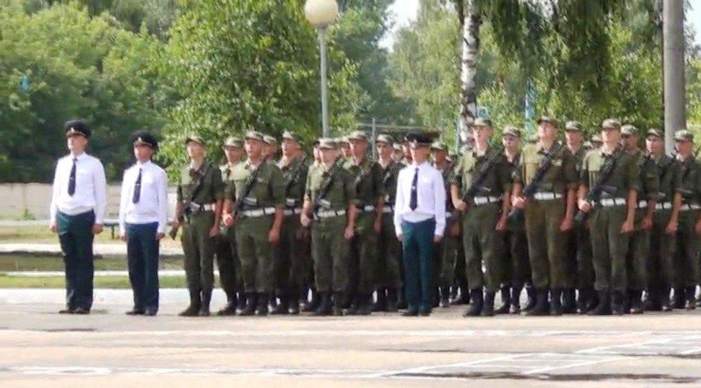ВЧ 33149. Принятие военной присяги солдатами 29-й ЖДБр