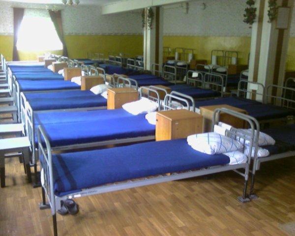 ВЧ 33149. Спальное расположение бойцов бригады