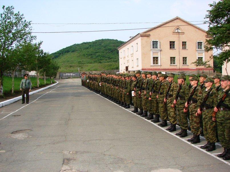 ВЧ 40083. Строевой плац полка