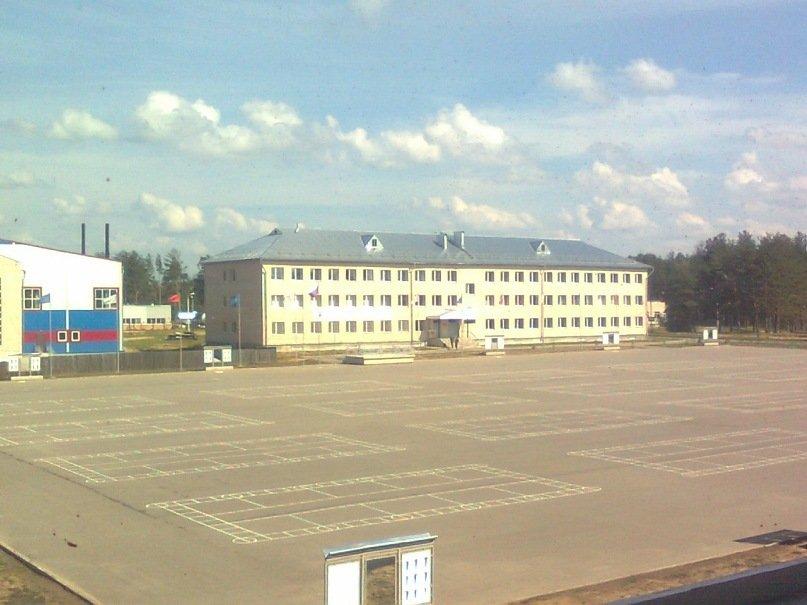 ВЧ 64044. Строевой плац бригады