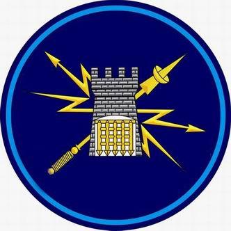ВЧ14272. Отличительный знак 28-го арсенала Космических войск