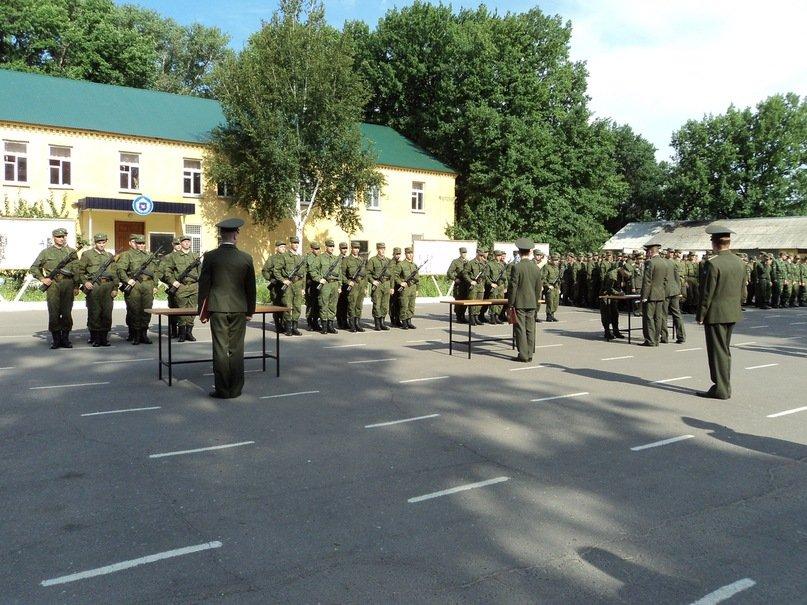 ВЧ14272. Церемония приведения новобранцев части к присяге