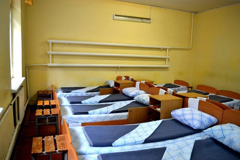 ВЧ32516. Спальное расположение бойцов центра