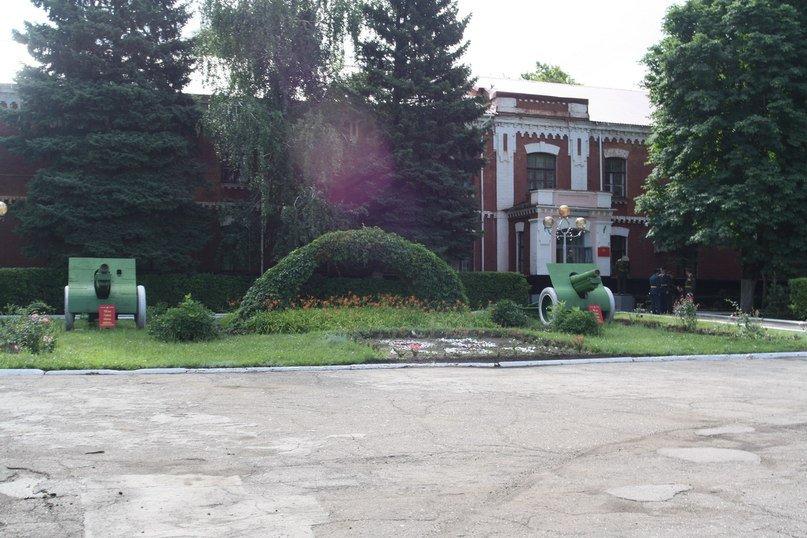 ВЧ50661. Здание штаба учебного центра