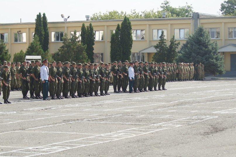 ВЧ23511. Построение солдат бригады