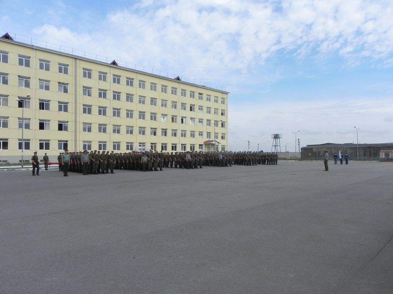 ВЧ23511. Строевой плац воинской части