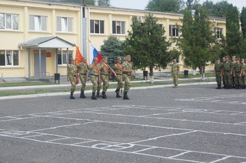 ВЧ23511. Церемония выноса знамени бригады