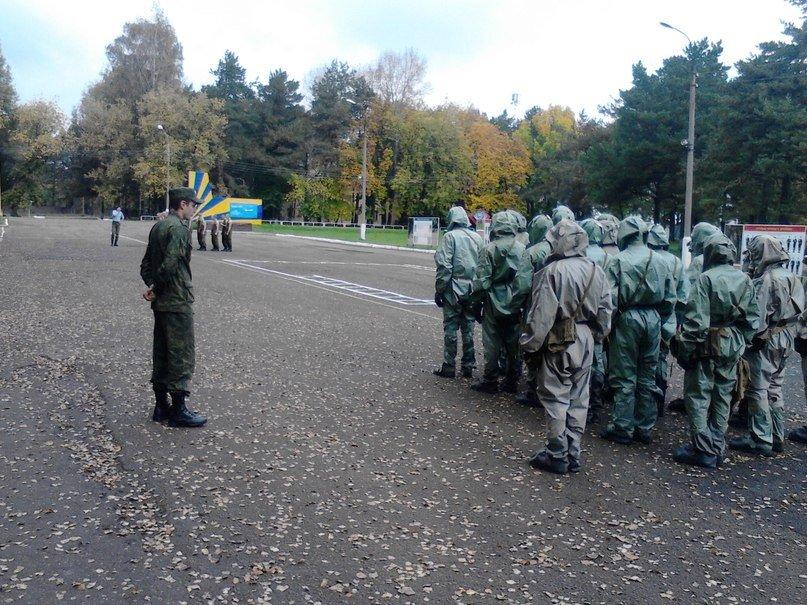 ВЧ41486. Военная подготовка в части