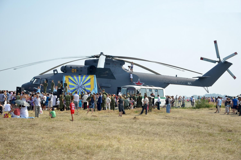 ВЧ 45123 Мероприятие посвященное 100-летию авиации в Каменск-Уральском