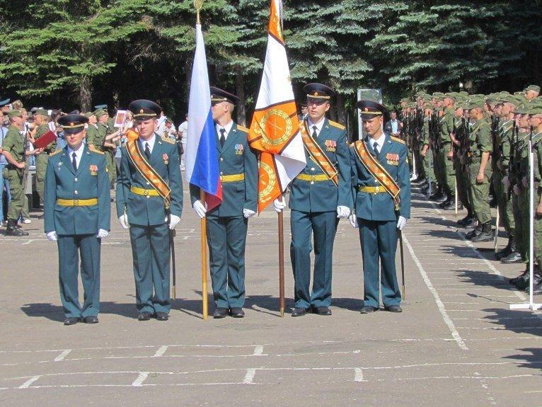 ВЧ88612. Знамя воинской части