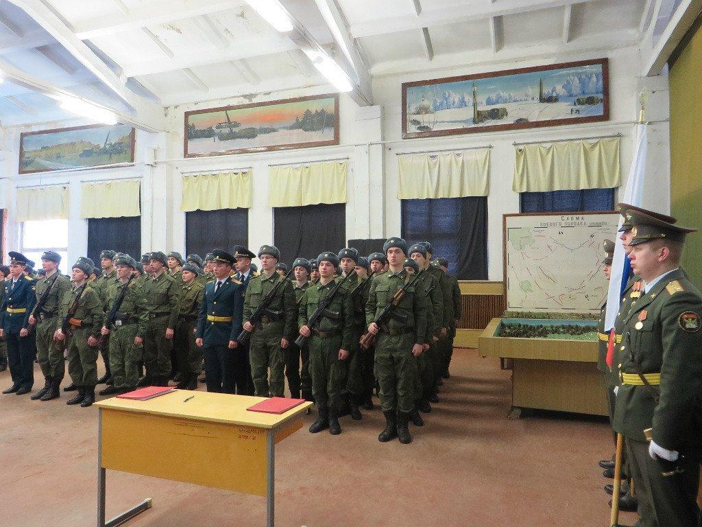 ВЧ88612. Приведение солдат части к присяге