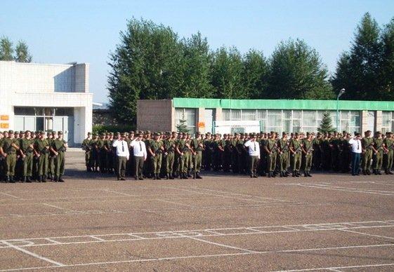 ВЧ 02030. Церемония принятия военной присяги