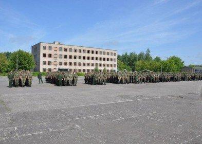 ВЧ 11105. Здание казармы