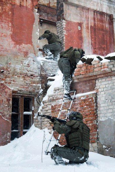 ВЧ 11105. Тренировка бойцов части