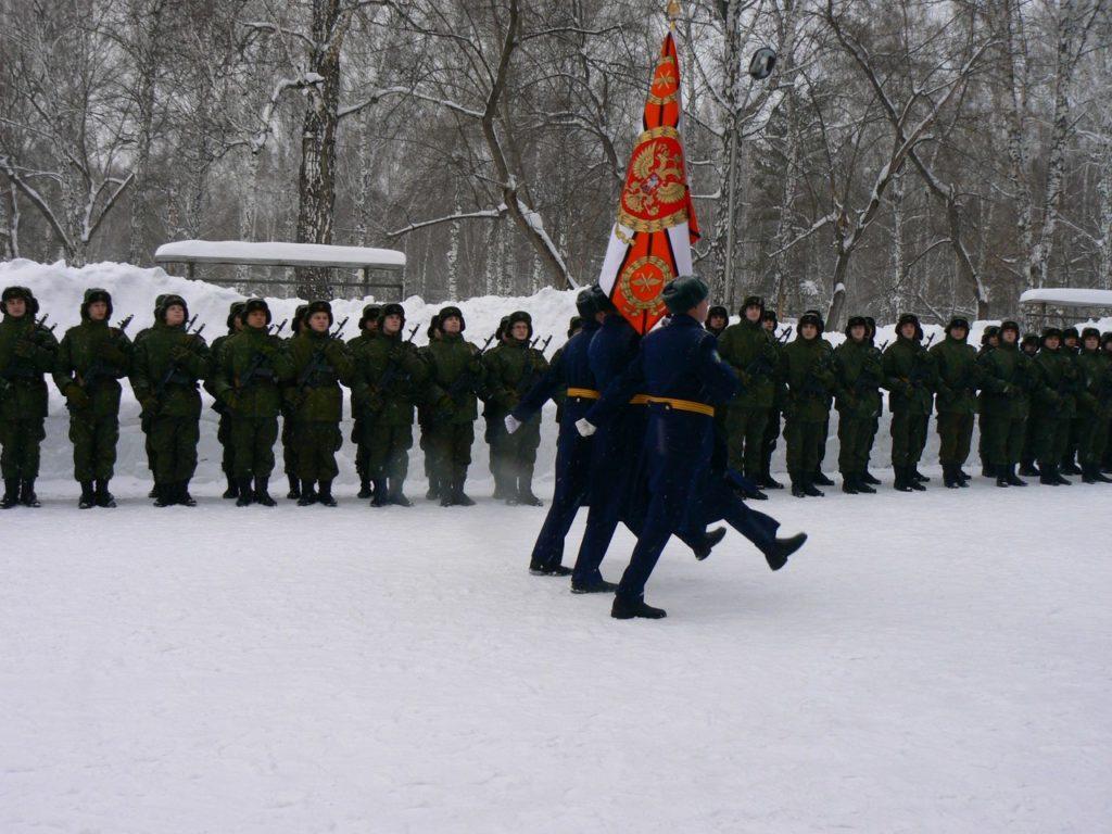 ВЧ 29286. На церемонии военной присяги