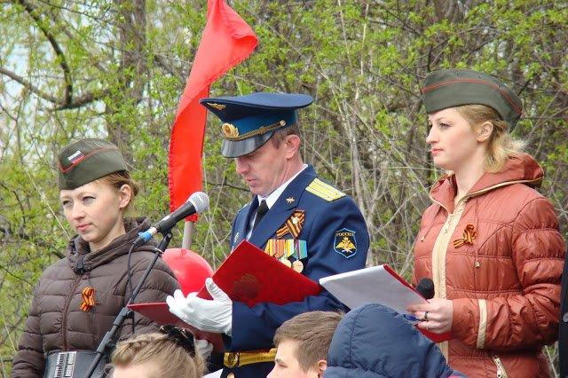 ВЧ 29286. Торжественная речь командира в/ч 29286 9 мая 2016 года
