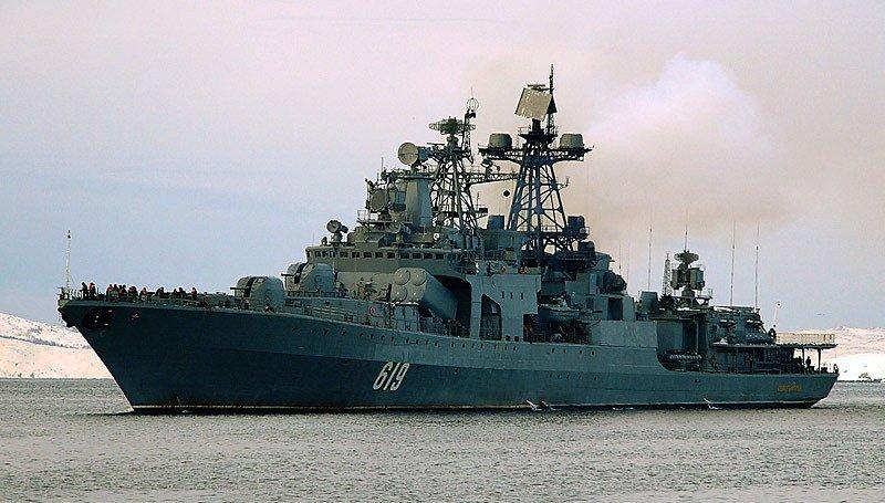 Бортномер противолодочного корабля 619