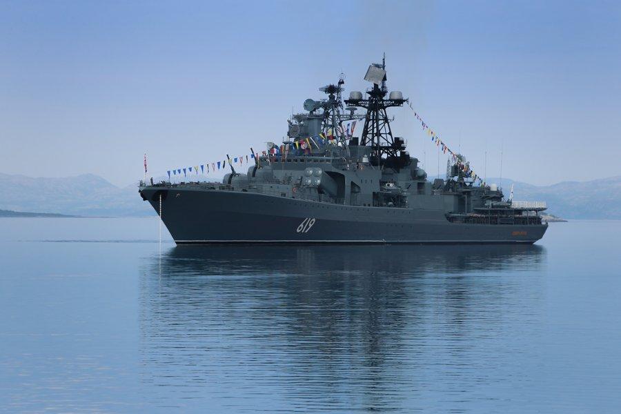 Празднование Дня Военно-Морского Флота России на Северном флоте
