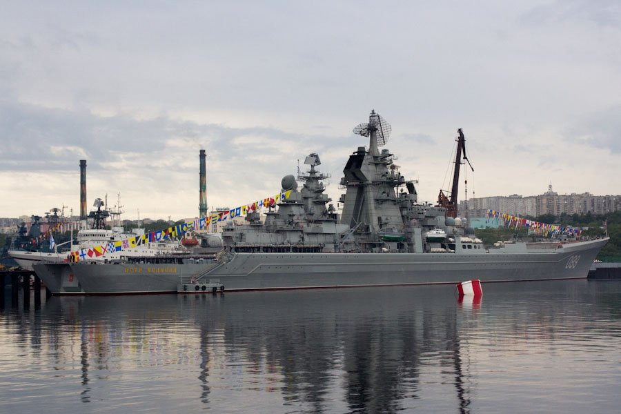 Атомный крейсер Петр Великий