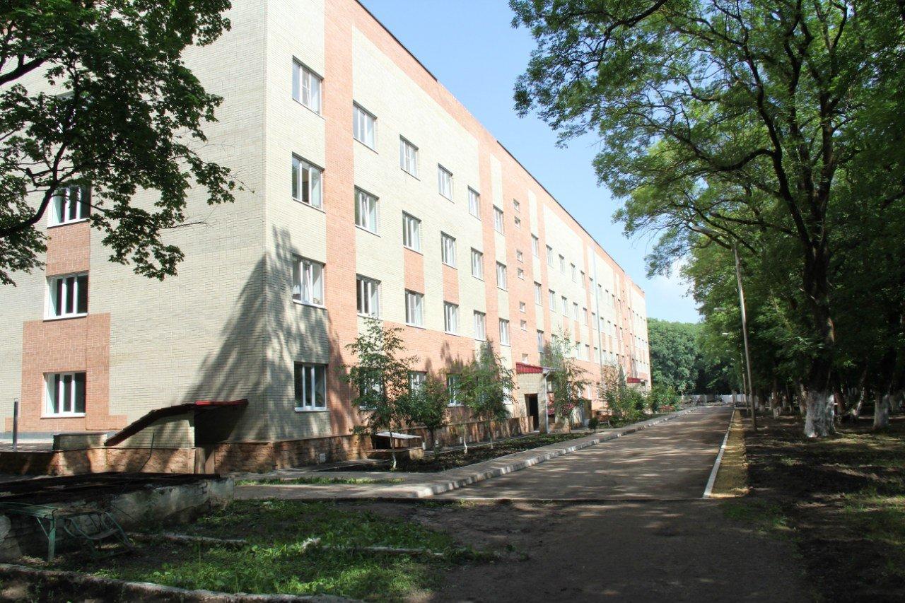 ВЧ 41600. Здание казармы