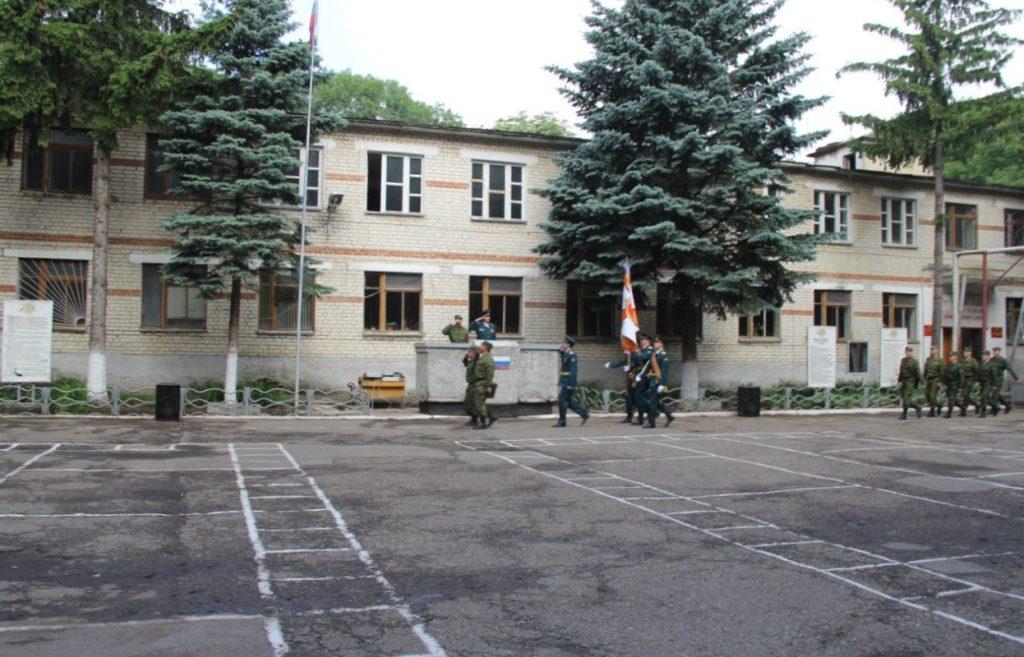 ВЧ 41600. Строевой плац воинской части