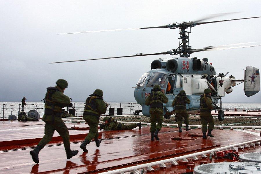 На борту атомного крейсера «Петр Великий»