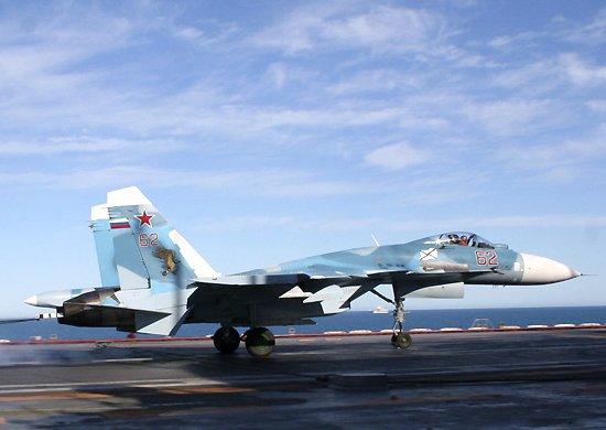 Посадка на ТАВКР «Адмирал Кузнецов»